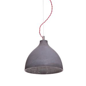 decode Heavy Light Pendant Dark Concrete