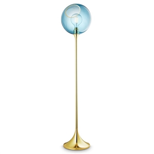 Design by Us Ballroom Floor Lamp Sky Blue
