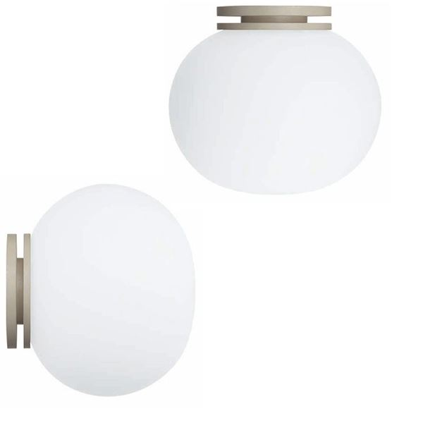 Flos glo ball mini cw wall and ceiling lamp free shipping flos glo ball mini cw wall and ceiling lamp aloadofball Images