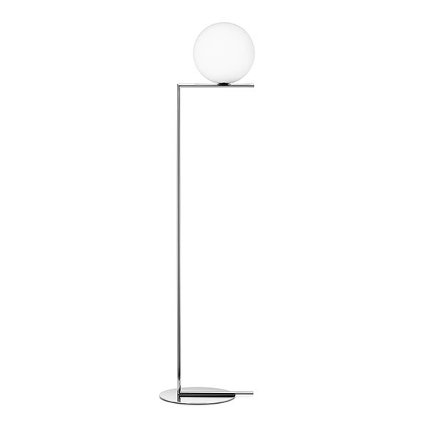 Flos IC F1 Floor Lamp Chrome