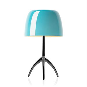 Foscarini Lumiere Table Lamp Grande Turquoise