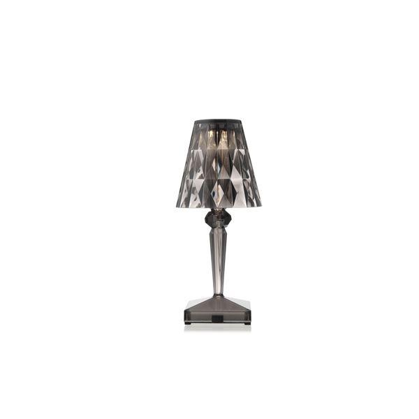 Kartell Battery Table Lamp Smoke Fri Fromgt
