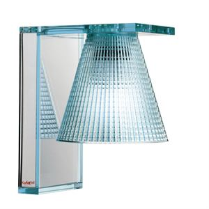 Kartell Light-Air Wall Lamp Sculpted Light blue