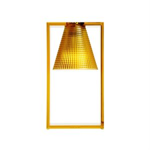 Kartell Light-Air Table Lamp Sculpted Amber