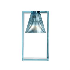Kartell Light-Air Table Lamp Sculpted Light blue