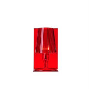 Kartell Take Table Lamp Red