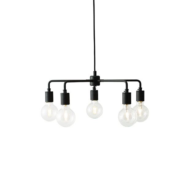 MENU Leonard Chandelier Pendant Black