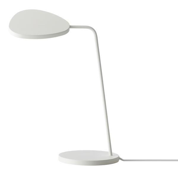 Ypperlig Muuto Leaf Table Lamp White - Fri Fragt! FY-94
