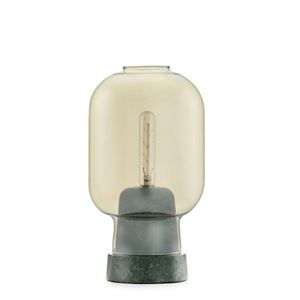 Normann Copenhagen Amp Table Lamp Gold/Green