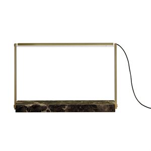 RestartMilano Stargate Table Lamp Brass & Marble