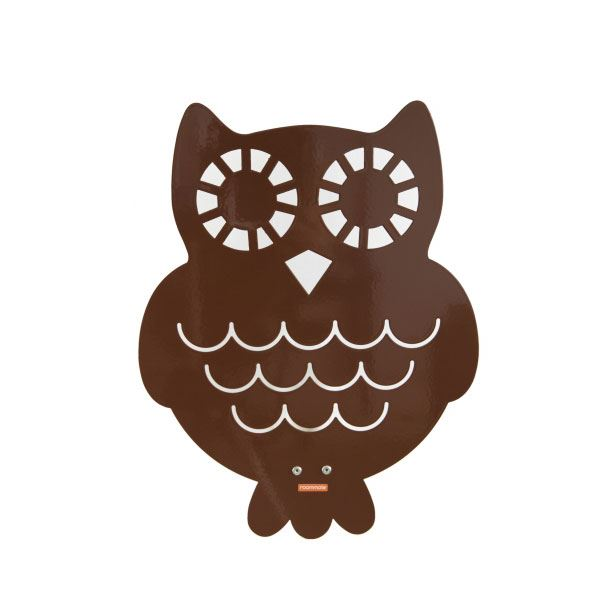 Roommate Owl Silhouette Wall Lamp Brown Free Shipping