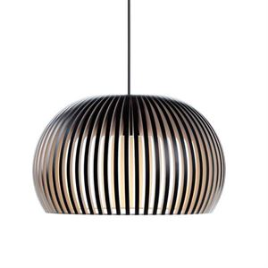 Secto Atto 5000 Pendant Black