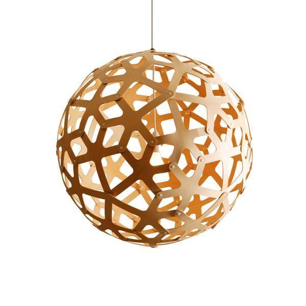 David Trubridge Coral Bambus Pendel Fri Fragt