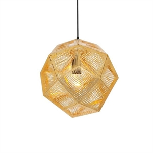 Tom Dixon Etch Brass Pendant