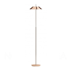 Vibia Mayfair Floor Lamp Glossy Copper