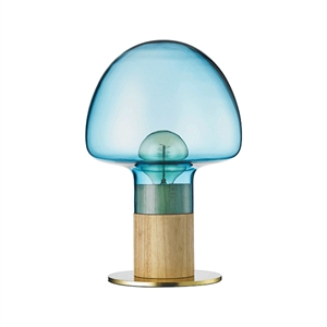 WATT A LAMP Mush Table Lamp Blue/Transparent