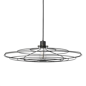 WATT A LAMP Radio Pendant Large Dark Grey