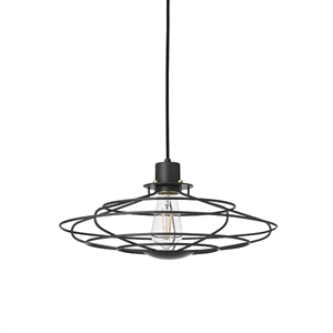 WATT A LAMP Radio Pendant Medium Dark Grey