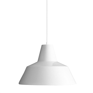 Made By Hand Workshop Lamp Pendant White W3