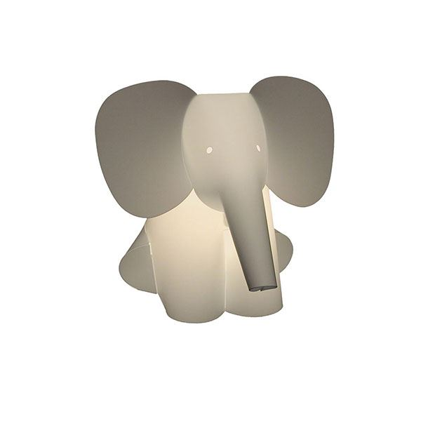 Zoolight Elephant Children\u0027s Table Lamp
