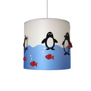 Happylight Penguin Children's Pendant Large